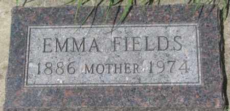FIELDS, EMMA - Dixon County, Nebraska | EMMA FIELDS - Nebraska Gravestone Photos