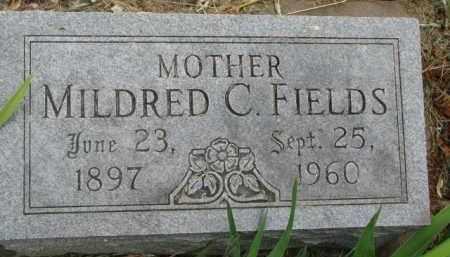 FIELDS, MILDRED C. - Dixon County, Nebraska   MILDRED C. FIELDS - Nebraska Gravestone Photos
