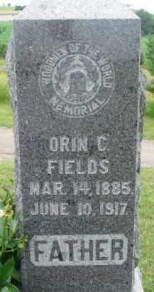 FIELDS, ORIN C. - Dixon County, Nebraska   ORIN C. FIELDS - Nebraska Gravestone Photos