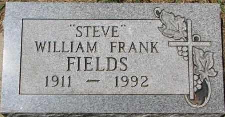 FIELDS, WILLIAM FRANK - Dixon County, Nebraska | WILLIAM FRANK FIELDS - Nebraska Gravestone Photos