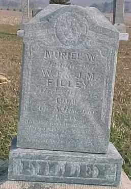 FILLEY, MURIEL W. - Dixon County, Nebraska   MURIEL W. FILLEY - Nebraska Gravestone Photos