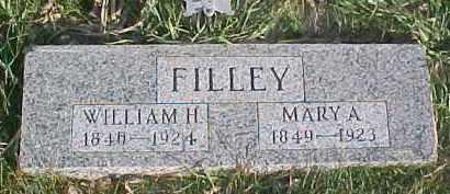 FILLEY, WILLIAM H. - Dixon County, Nebraska   WILLIAM H. FILLEY - Nebraska Gravestone Photos
