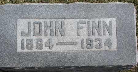 FINN, JOHN - Dixon County, Nebraska | JOHN FINN - Nebraska Gravestone Photos