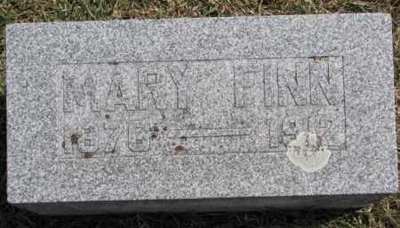 FINN, MARY - Dixon County, Nebraska | MARY FINN - Nebraska Gravestone Photos