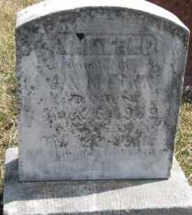 FINN, MADILENE - Dixon County, Nebraska | MADILENE FINN - Nebraska Gravestone Photos