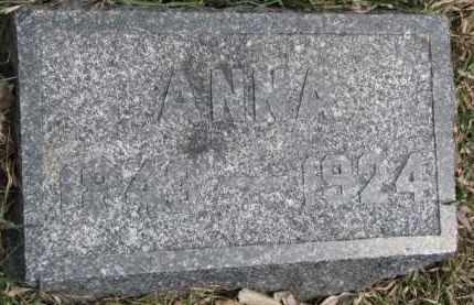 FINNEGAN, ANNA - Dixon County, Nebraska | ANNA FINNEGAN - Nebraska Gravestone Photos