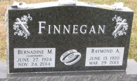 FINNEGAN, RAYMOND A. - Dixon County, Nebraska   RAYMOND A. FINNEGAN - Nebraska Gravestone Photos