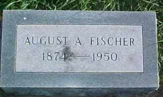 FISCHER, AUGUST A. - Dixon County, Nebraska | AUGUST A. FISCHER - Nebraska Gravestone Photos