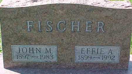 FISCHER, EFFIE A. - Dixon County, Nebraska | EFFIE A. FISCHER - Nebraska Gravestone Photos