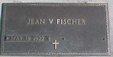 FISCHER, JEAN V. - Dixon County, Nebraska | JEAN V. FISCHER - Nebraska Gravestone Photos