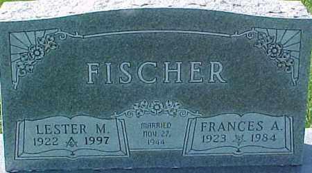 FISCHER, LESTER M. - Dixon County, Nebraska | LESTER M. FISCHER - Nebraska Gravestone Photos