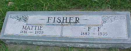 FISCHER, F. F. - Dixon County, Nebraska   F. F. FISCHER - Nebraska Gravestone Photos