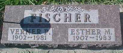 FISCHER, ESTHER M. - Dixon County, Nebraska | ESTHER M. FISCHER - Nebraska Gravestone Photos