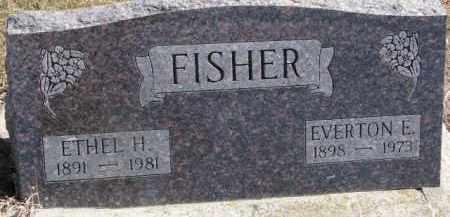 FISHER, ETHEL H. - Dixon County, Nebraska | ETHEL H. FISHER - Nebraska Gravestone Photos