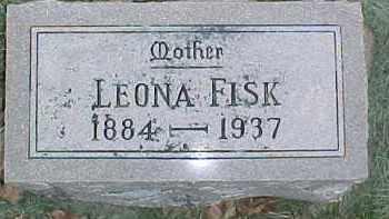 FISK, LEONA - Dixon County, Nebraska | LEONA FISK - Nebraska Gravestone Photos