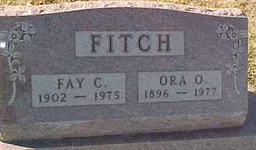 FITCH, ORA O. - Dixon County, Nebraska | ORA O. FITCH - Nebraska Gravestone Photos