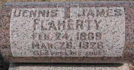 FLAHERTY, DENNIS JAMES - Dixon County, Nebraska | DENNIS JAMES FLAHERTY - Nebraska Gravestone Photos