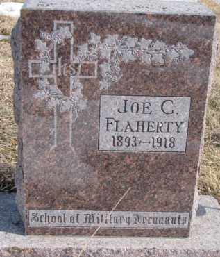 FLAHERTY, JOE C. - Dixon County, Nebraska | JOE C. FLAHERTY - Nebraska Gravestone Photos