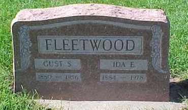 FLEETWOOD, GUST  S. - Dixon County, Nebraska | GUST  S. FLEETWOOD - Nebraska Gravestone Photos