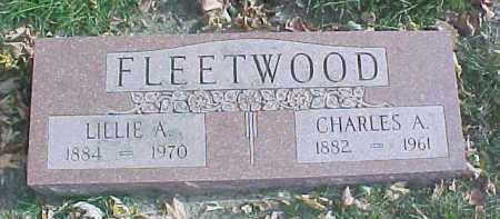 FLEETWOOD, LILLIE A. - Dixon County, Nebraska | LILLIE A. FLEETWOOD - Nebraska Gravestone Photos