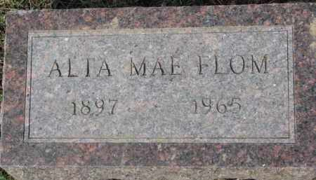FLOM, ALTA MAE - Dixon County, Nebraska | ALTA MAE FLOM - Nebraska Gravestone Photos