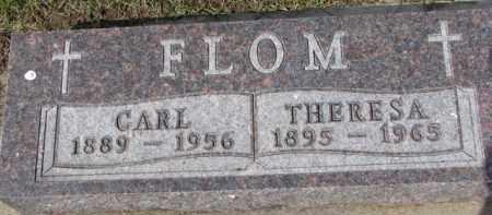 FLOM, THERESA - Dixon County, Nebraska | THERESA FLOM - Nebraska Gravestone Photos