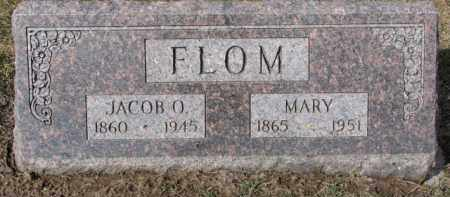 FLOM, MARY - Dixon County, Nebraska | MARY FLOM - Nebraska Gravestone Photos