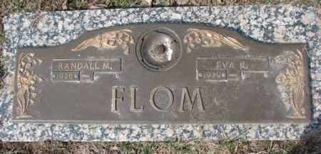 FLOM, EVA R. - Dixon County, Nebraska | EVA R. FLOM - Nebraska Gravestone Photos