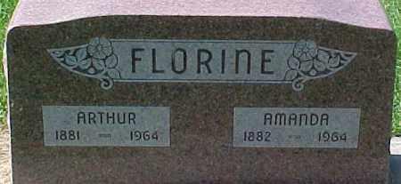 FLORINE, ARTHUR - Dixon County, Nebraska   ARTHUR FLORINE - Nebraska Gravestone Photos