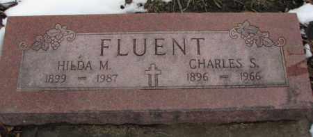 FLUENT, HILDA M. - Dixon County, Nebraska | HILDA M. FLUENT - Nebraska Gravestone Photos