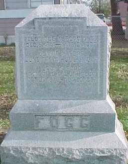 FOGG, JENNIE E. - Dixon County, Nebraska | JENNIE E. FOGG - Nebraska Gravestone Photos