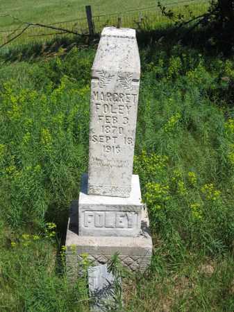 FOLEY, MARGRET - Dixon County, Nebraska | MARGRET FOLEY - Nebraska Gravestone Photos
