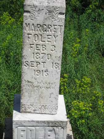 DONAHOE FOLEY, MARGRET - Dixon County, Nebraska | MARGRET DONAHOE FOLEY - Nebraska Gravestone Photos