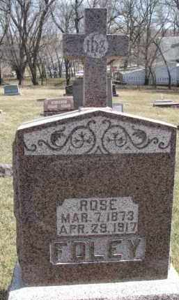 FOLEY, ROSE - Dixon County, Nebraska | ROSE FOLEY - Nebraska Gravestone Photos