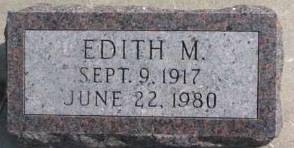 FORSBERG, EDITH M. - Dixon County, Nebraska   EDITH M. FORSBERG - Nebraska Gravestone Photos