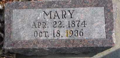 FORSBERG, MARY - Dixon County, Nebraska | MARY FORSBERG - Nebraska Gravestone Photos