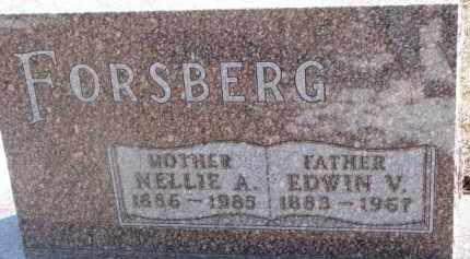 FORSBERG, EDWIN V. - Dixon County, Nebraska | EDWIN V. FORSBERG - Nebraska Gravestone Photos