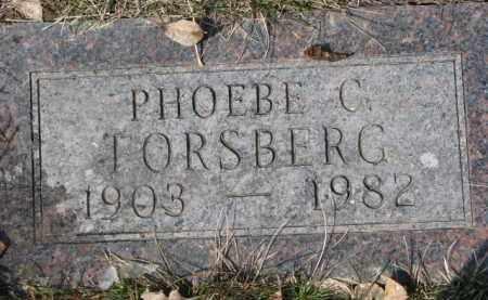 FORSBERG, PHOEBE C. - Dixon County, Nebraska | PHOEBE C. FORSBERG - Nebraska Gravestone Photos