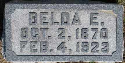 FRANCISCO, DELDA E. - Dixon County, Nebraska | DELDA E. FRANCISCO - Nebraska Gravestone Photos