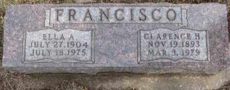 FRANCISCO, CLARENCE H. - Dixon County, Nebraska   CLARENCE H. FRANCISCO - Nebraska Gravestone Photos
