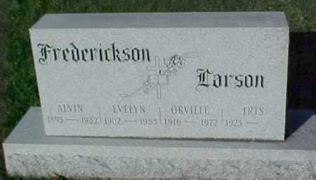 LARSON, ORVILLE - Dixon County, Nebraska | ORVILLE LARSON - Nebraska Gravestone Photos