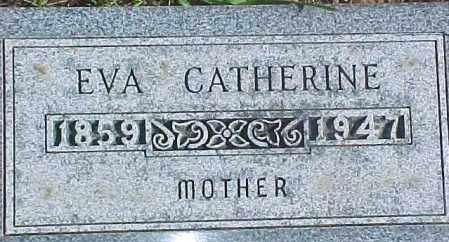 FREDERICKSON, EVA CATHERINE - Dixon County, Nebraska | EVA CATHERINE FREDERICKSON - Nebraska Gravestone Photos