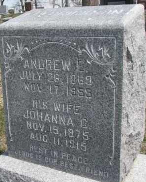 FREDRICKSON, ANDREW E. - Dixon County, Nebraska | ANDREW E. FREDRICKSON - Nebraska Gravestone Photos