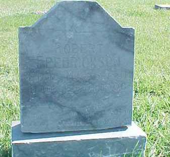 FREDRICKSON, ROBERT - Dixon County, Nebraska   ROBERT FREDRICKSON - Nebraska Gravestone Photos