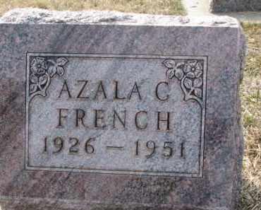 FRENCH, AZALA C. - Dixon County, Nebraska   AZALA C. FRENCH - Nebraska Gravestone Photos