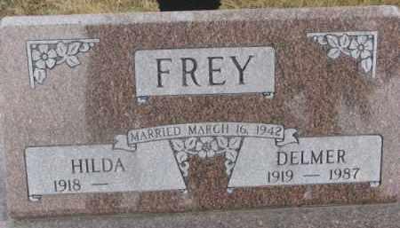 FREY, DELMER - Dixon County, Nebraska | DELMER FREY - Nebraska Gravestone Photos