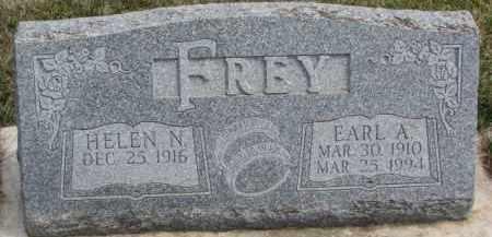 FREY, HELEN N. - Dixon County, Nebraska | HELEN N. FREY - Nebraska Gravestone Photos