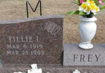 FREY, TILLIE I. - Dixon County, Nebraska | TILLIE I. FREY - Nebraska Gravestone Photos