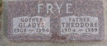 FRYE, THEODORE - Dixon County, Nebraska | THEODORE FRYE - Nebraska Gravestone Photos