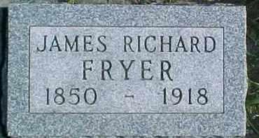 FRYER, JAMES RICHARD - Dixon County, Nebraska   JAMES RICHARD FRYER - Nebraska Gravestone Photos